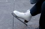 濡れないスケートリンクでイルミを見ながら滑ろう
